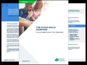 cloud skills shortage cloudcheckr