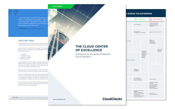 CCOE Cloud Center of Excellence blueprint