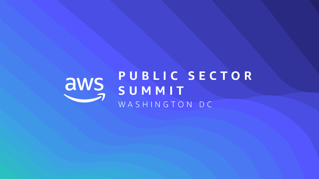 Image result for aws public sector summit 2019