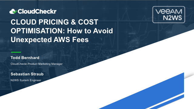 n2ws cloudcheckr aws cloud pricing unexpected fees uk