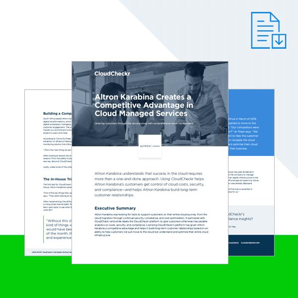 CloudCheckr Cloud Management for-Microsoft Azure Case Study