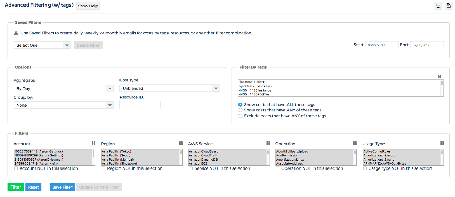 Reporting and invoicing using tags with CloudCheckr CMx